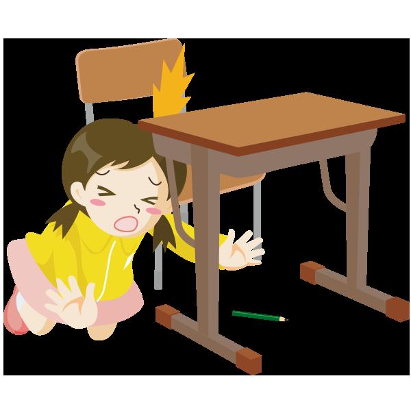 学校安全フリーイラスト集学校生活2
