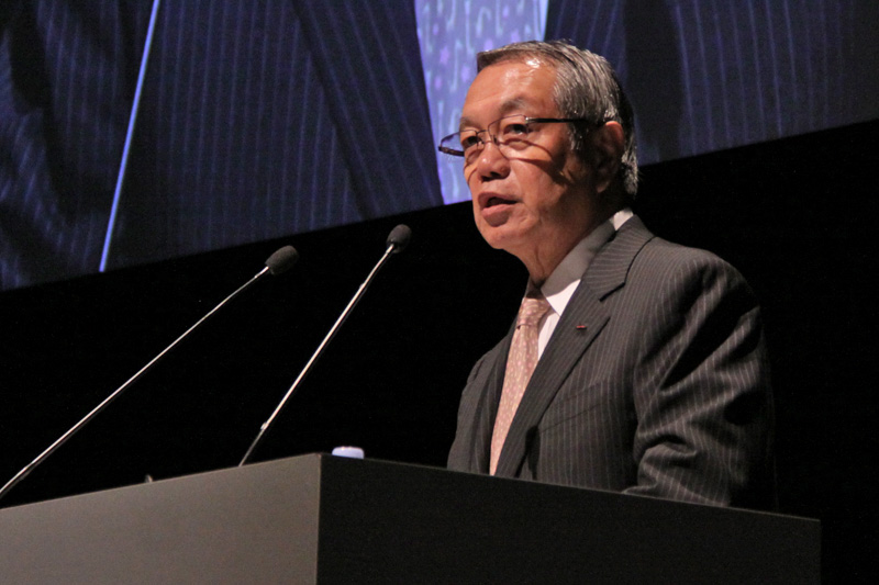 picture of JSC President Dr. Ichiro Kono