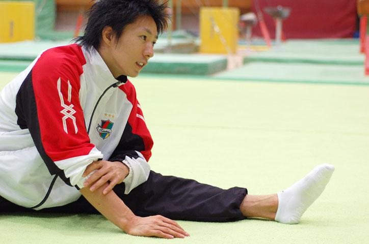 米田功選手