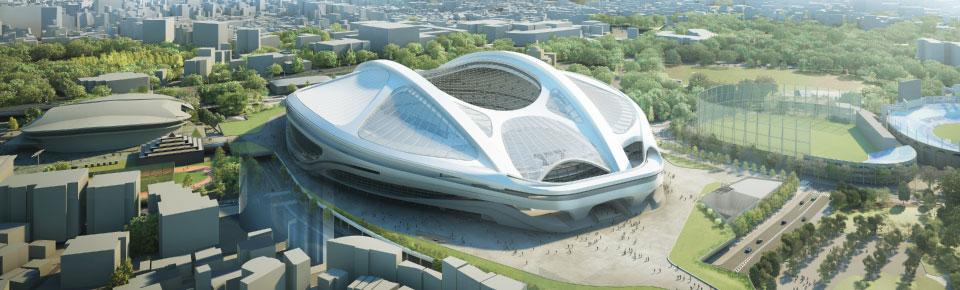 新国立競技場完成イメージ